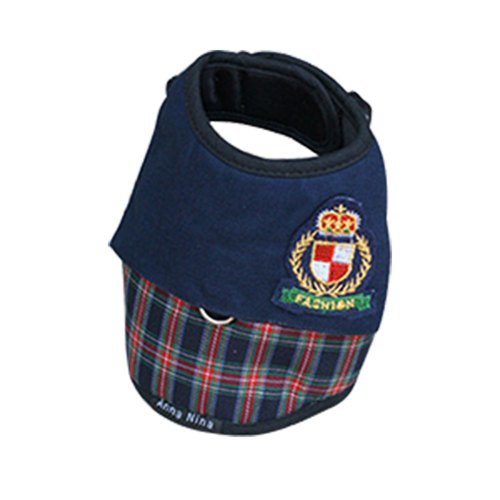 Pet chest back / chest strap Scottish sailor L / XL (without leash)