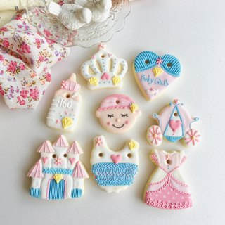 Ginseng salted sugar cookies • Cinderella Cinderella girls handmade creative design gift set of 8 groups**Please contact the subscription schedule before ordering**