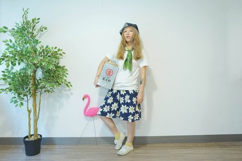 ". ""Series wind vintage skirts ~ No.10"" [Hello Hello Hippie Hippie]"