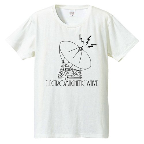 [T-shirt] Electromagnetic wave