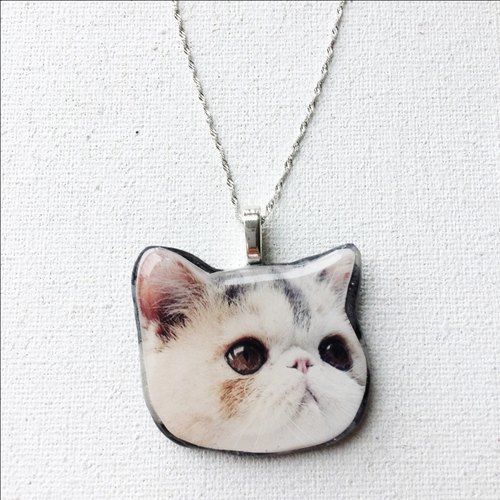 Baby Jojo meow Stardust Silver Necklaces