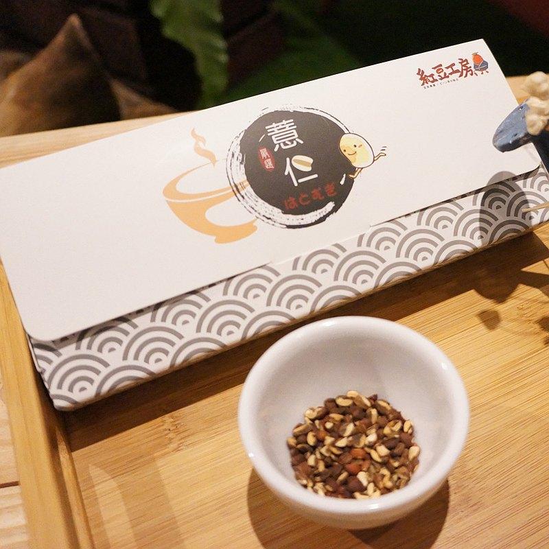 紅豆工房 【營養滿分】紅薏仁茶包12入