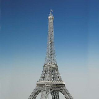 Japan imported AerobaseThe Tower Paris Tower / Eiffel Tower eclipse metal model - pre-order