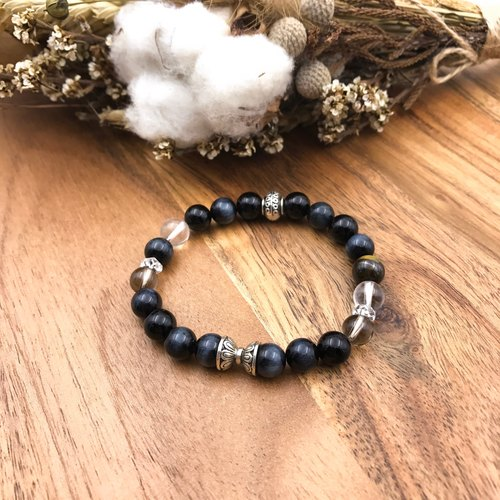 Night de la stars | black tiger eye stone natural stone bracelet