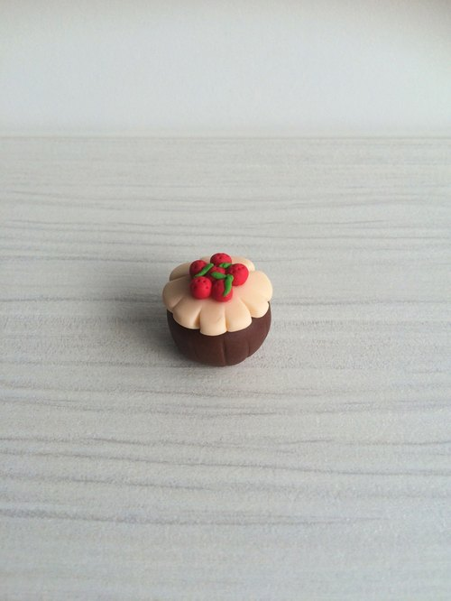 Small dessert clay / magnets / micro fruit fragrant chocolate