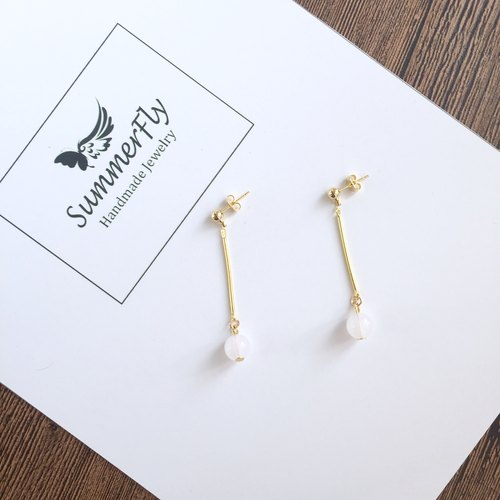 [2 price! ] ❤️14k gilded copper! ❤️ ❤️ simple wild holiday specials! ❤️0.8cm ball earrings earrings long paragraph without pierced ear hook ear wire birthday gift exchange