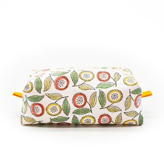 Autumn rain flower big belly belly beauty bag / universal bag