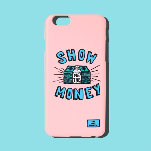 Miss watching SHOW ME THE MONEY / New Arrivals / Korea design and manufacture / phone shell / for iphone 6,6 + to money, + 7,7 /
