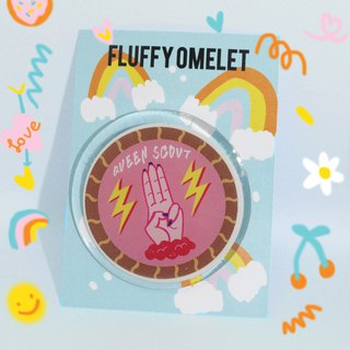 QUEEN SCOUT PIN
