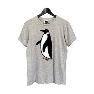 Foxpixel 3D Embroidery Tee with Penguin