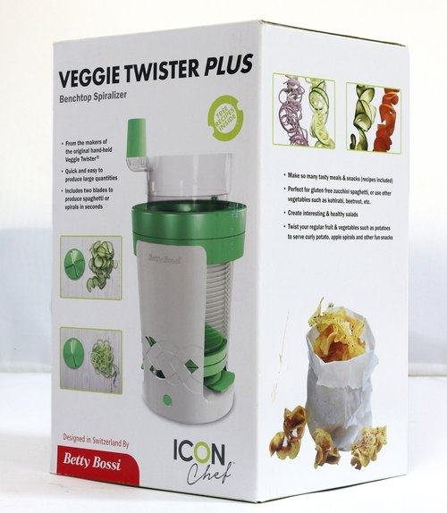 Germany Veggie Twister versatile vegetable sliced ​​/ shredded vegetables conditioner unit PLUS