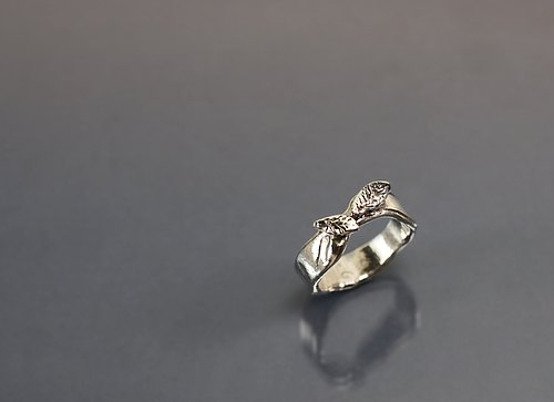 Leaves 925 silver ring