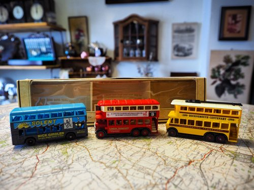 Early British Collection Bus Set (three) (JS)