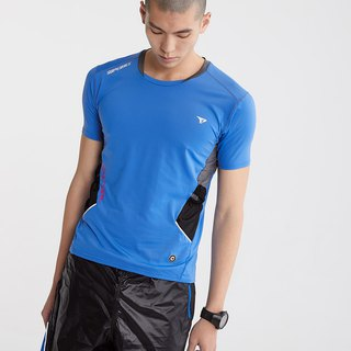【SUPERACE】SR-TRAIL MEN'S RUNNING TEE / BLUE