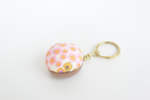 Soft key ring - Safflower