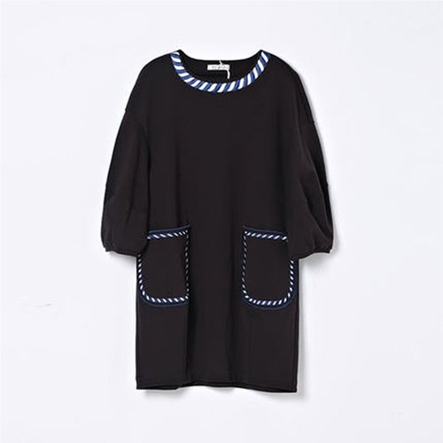 MOVE UP reverse embroidered dress