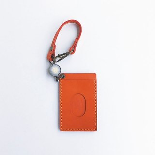 ■ resale ■ reel belted path case Tochigi leather orange