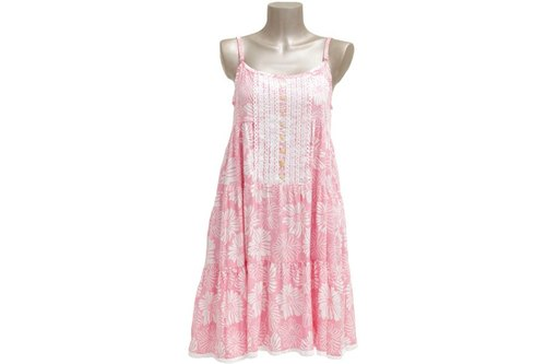 New! San Flower lace dress <Pink>