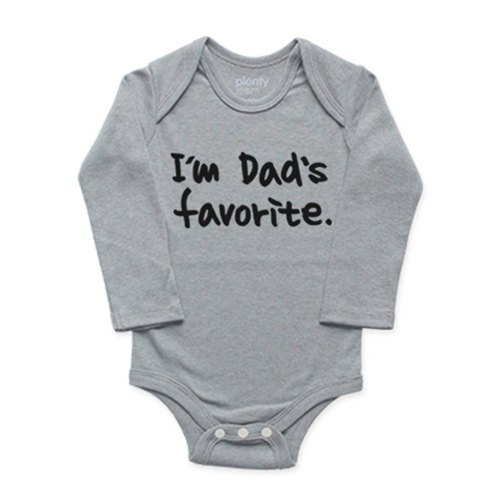 Package fart clothing jumpsuit dad's favorite (Heather Grey)