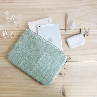 Mini Clutch Bags Hand Woven Cotton Natural Color