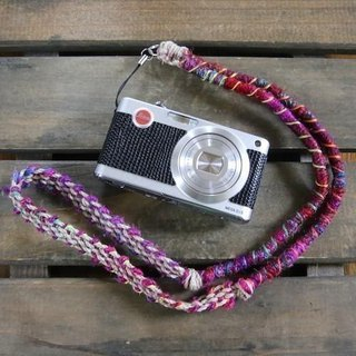 Crazy-color neck strap