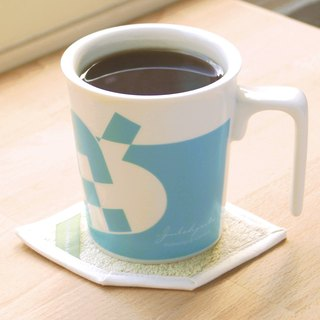 [Denmark heart good office] fir heart kiss mug cotton coaster ceremony