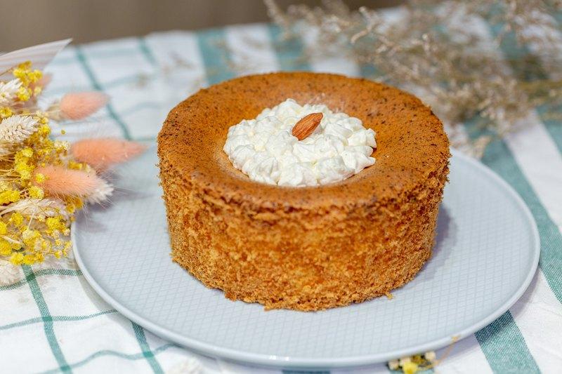 香草蛋糕/生酮甜點/生日蛋糕/無澱粉