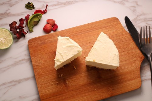 Six-inch lemon cheese cake (4 to 6 people) - DIY combination
