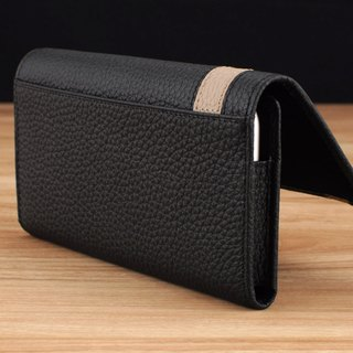 STORYLEATHER made (SAMSUNG series) Style W4 horizontal folding edge custom leather case