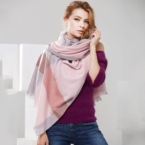 [ANGEL WOOLEN] play the United States 100% cashmere cashmere cashmere shawl scarf