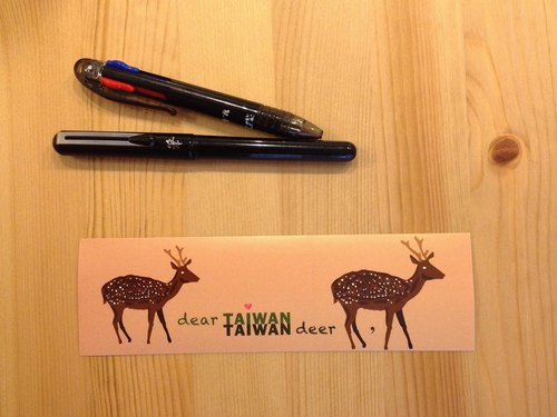 Taiwan pictographic waterproof stickers -Dear Taiwan Deer (Taiwan sika)