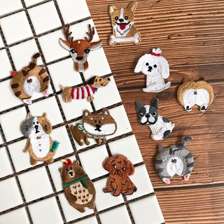 Animal Series Embroidery Patches | Japanese Adhesives | Can be Hot on Any Cloth