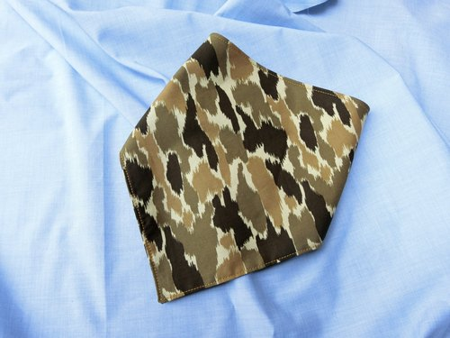 Desert camouflage - triangle bibs / scarves
