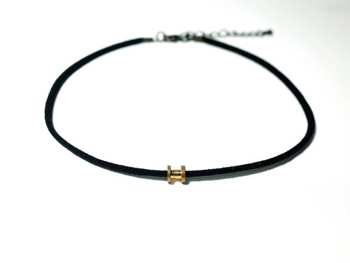 W&Y Atelier - Black Choker , Necklace (3 colors)