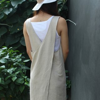Made to order linen dress / linen clothing / long dress / casual dress E35D