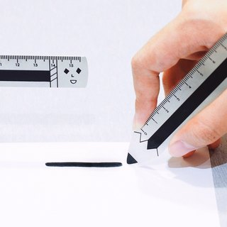 Pencil / Yohand Steel Ruler