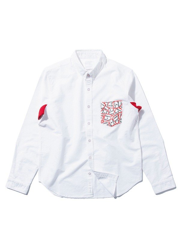 adc68ddb023d [Picks] DeMarcoLab x have a good time totem shirt pocket Oxford shirt  Taiwan and Japan joint manufacturing in Taiwan are only two color numbers S  - Designer ...