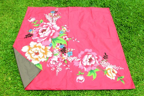 Nuhox roar lion [box pad] flowers and wealth - picnic mats, camping mats and furnishings