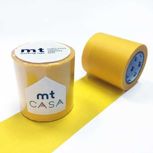 KAMOI mt CASA tape 50mm【Yellow (MTCA5091)】