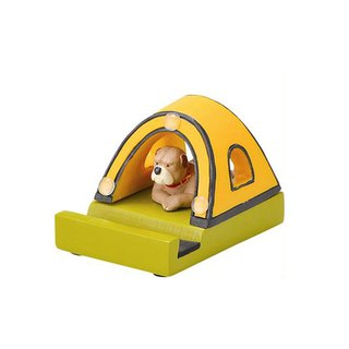 Japan Magnets high quality super cute desktop small mobile phone holder / mobile phone holder (puppies Gu tent)