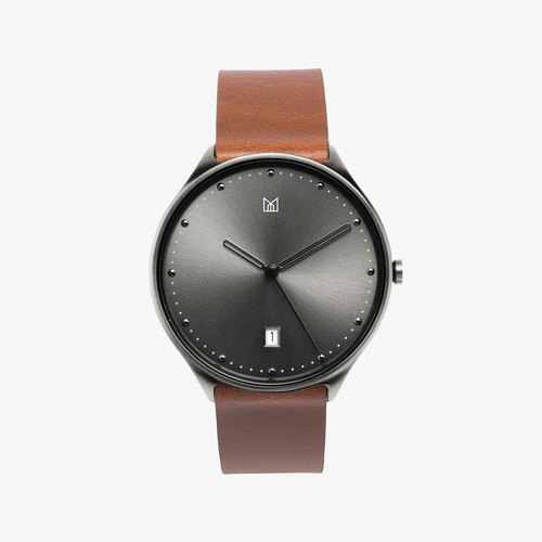 NEUT watch | Midnight Black / Brown
