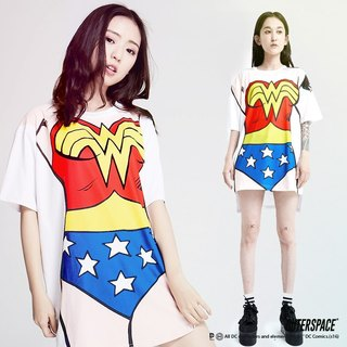OUTER SPACE IM Wonder Woman T