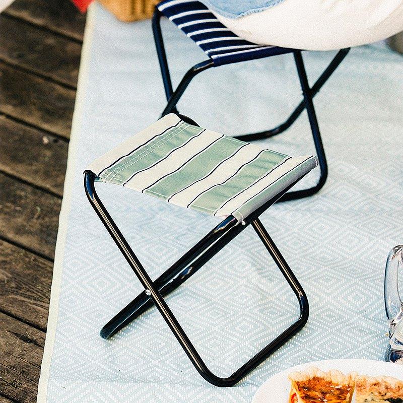 日本BRUNO 野餐露營迷你摺疊椅(附收納袋)(綠色)