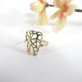 Tooth Geometric ring from WABY