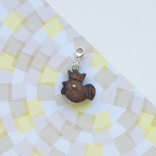 Wooden Charm Series Happy Chicken Charm Gifts Customized