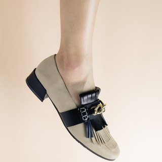Retro Tassel Square Toe