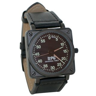 Timer shape fluorescent neutral watch