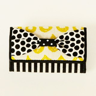 key holder wallet yellow drops stripes ribbon Assistant Director dots borders