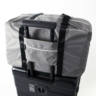 Luggage trolley admission package. gray
