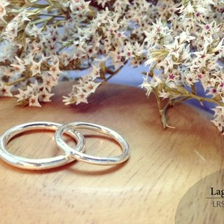 Ring-type silver ring handmade sterling silver ring] [LRS1016. Nanjie. Nvjie. Ring
